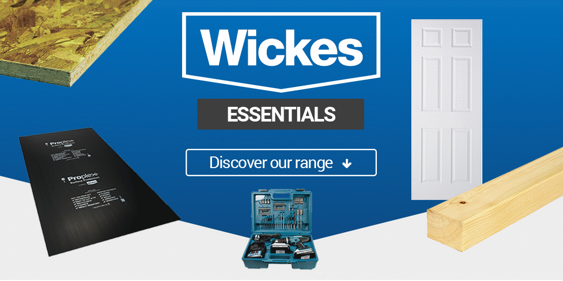 wickes essentials banner