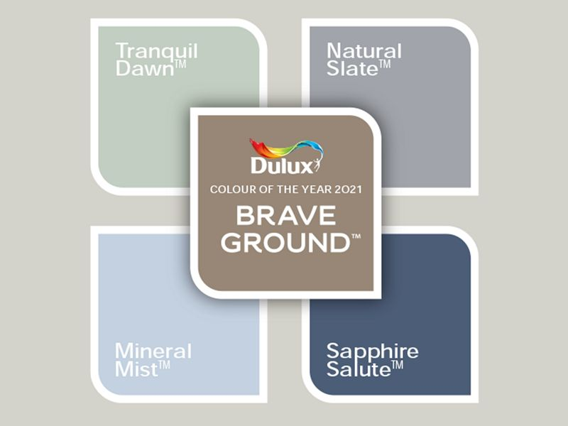 Earth Colours: Brave Ground lets other shades shine