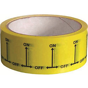 Gas On/Off Tape 38mm x 33m