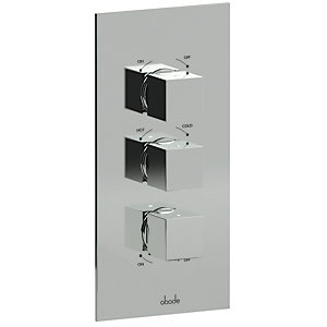 Abode Zeal Thermostatic Mixer Shower (3 Way Diverter) AB2221
