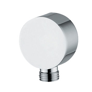 Abode Euphoria Circular Wall Outlet Chrome AB2420