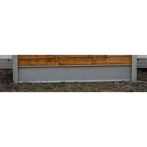 Concrete Gravel Board Recessed 50mm x 300mm x 1830mm
