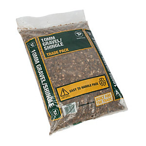 Travis Perkins Gravel and Shingle Trade Pack 10mm (Minimum Order Qty of 5)