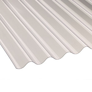 Ariel Vistalux 3in Super Weight Corrugated PVC Sheet 8' x 1.3mm