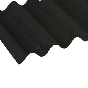 Ariel Coroline Corrugated Roofing Sheet Black 20000x1x950mm