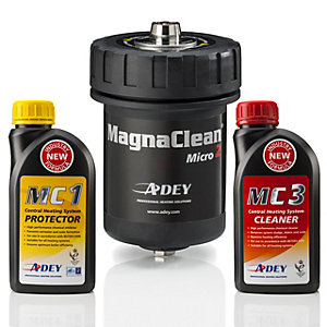 ADEY MagnaClean Micro Filter & Chemical 2pk