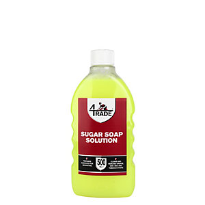 4Trade Sugar Soap Solution 500ml
