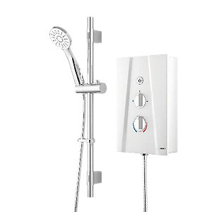 Wickes Hydro Ultra Electric Shower White 10.5kW