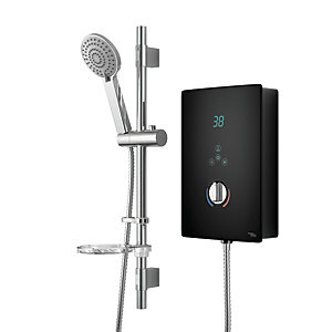 iflo Witham Electric Shower 9.5kW Black