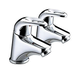 Bristan Java Basin Taps Chrome