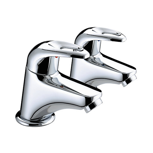 Bristan Java Bath Taps Chrome