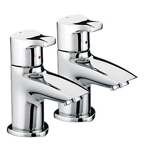 Bristan Capri Basin Taps Chrome CAP 1/2 C
