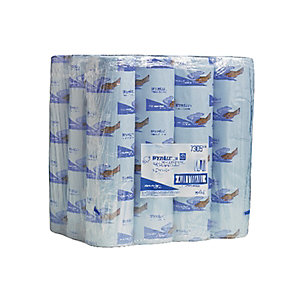 Wypall L30 7305 Wipes 2PLY Blue Roll 100 Sheet 380mm x 240mm - Pack of 24