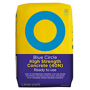Blue Circle High Strength (40N) Ready to Use Concrete 20kg (Minimum Order Qty of 3)