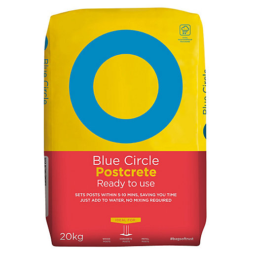 Blue Circle Ready to Use Postcrete 20kg (Minimum Order Qty of 3)