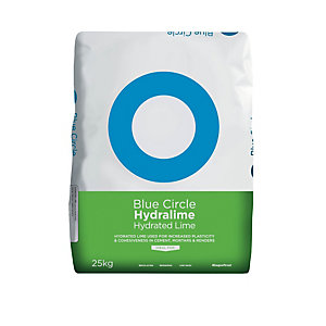 Blue Circle Hydralime Hydrated Lime 25kg (Minimum Order Qty of 3)