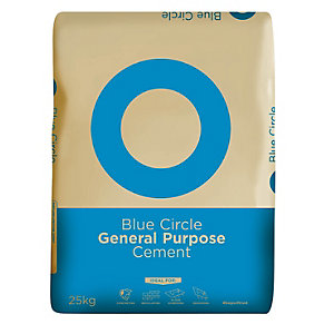 Blue Circle General Purpose Grey Cement 25kg (Minimum Order Qty of 3)