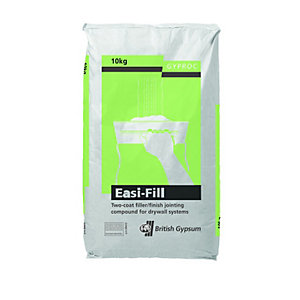 British Gypsum Gyproc Easi-Fill 60 Two Coat Joint Filler Compound 10kg