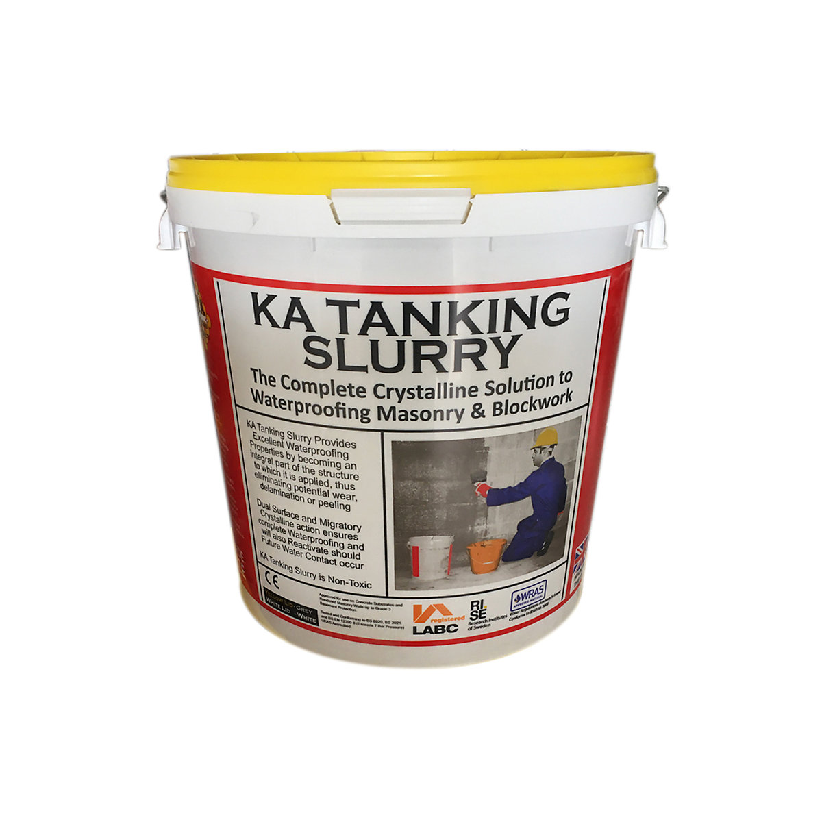 KA Tanking Slurry Waterproofing Solution Grey 25kg | Travis