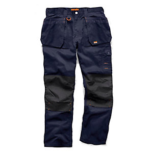 Scruffs Worker Plus Trouser Navy 34inW 31inL