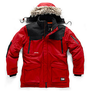 Scruffs Classic Thermo Parka Red