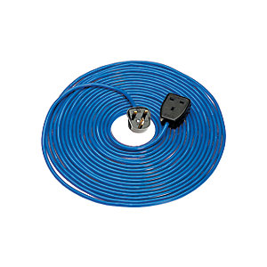 Defender Extension Lead Blue Arctic 14m x 1.5 x 240V E85222