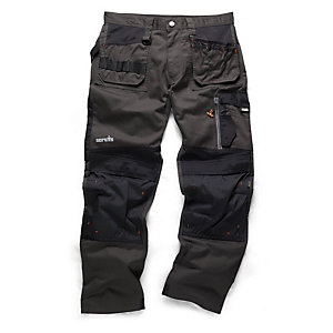 "Scruffs 3D Trade Trouser Graphite 34""W"""