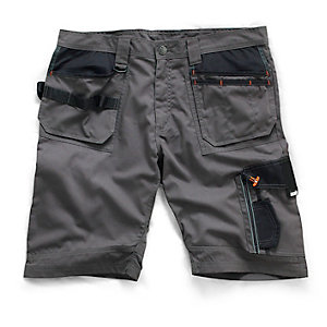 Scruffs Slate Trade Shorts 32W