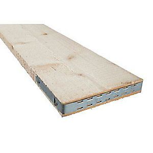 End Banded Timber Scaffold Boards BS2482 38mm x 225mm x 3.9m