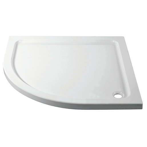iflo Quadrant Abs Capped Slimline Stone Shower Tray 800 mm