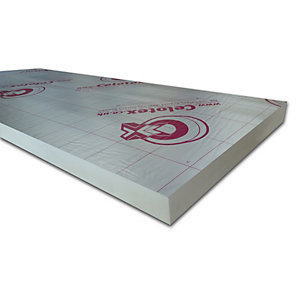 Celotex CW4075 Cavity Insulation Wall Board 75mm x 450mm x 1200mm (0.54m²/Sheet)