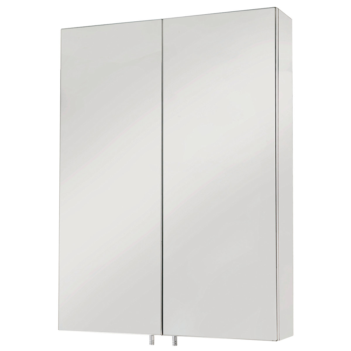 Iflo Single Door Bathroom Cabinet Stainless Steel | Travis Perkins