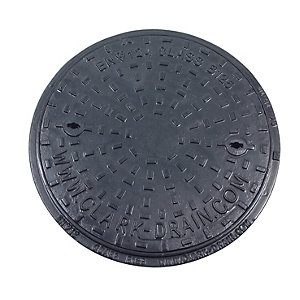 Clark Drain Inspection Chamber Cover and Frame Ductile Iron 450mm Diameter