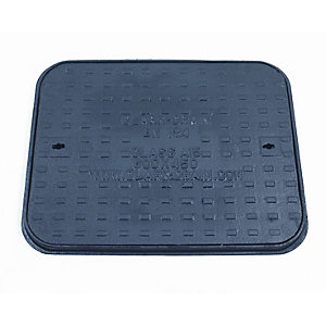 Clark Drain Manhole Cover and Frame Cast Iron 450mm x 600mm