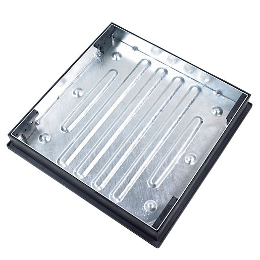 Clark-Drain Manhole Cover and Frame Driveway Block Paviour 600mm x 600mm