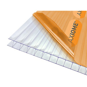 Axiome Clear 10mm Twinwall Polycarbonate Sheet 2100mm