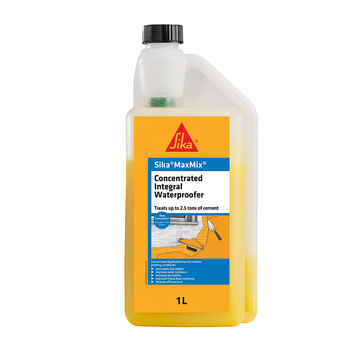 Sika Maxmix Concentrated Integral Waterproofer 1L - Box of 6