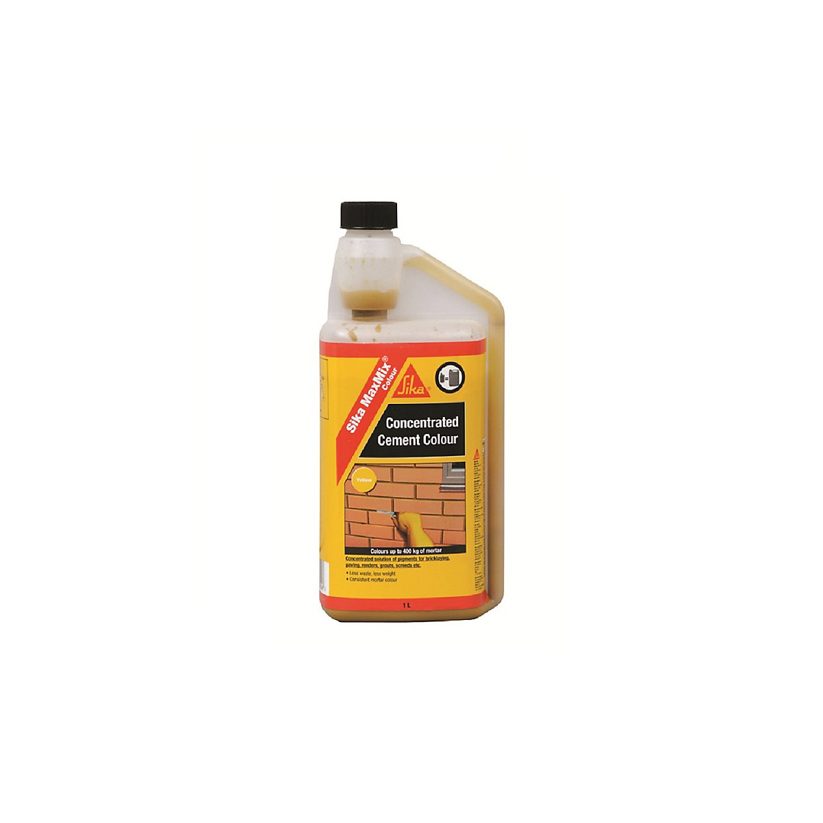 Sika Maxmix Colour Yellow Cement 1L