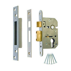 4Trade Sashlock Case Euro Profile 64mm Satin