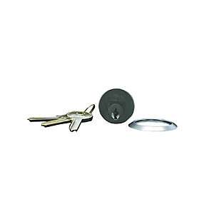 4Trade Replacement Cylinder 3 Keys Satin