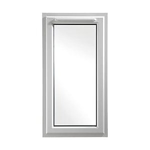 Upvc White Window Left Hand Shield 6  610mm X 1040mm