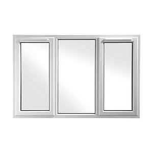 Upvc White Window 3 Pane Casement Shield 6  1770mm X 1040mm