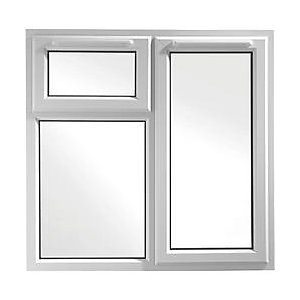 UPVC Window 3PCase SHD6 White 1190mm x 1190mm