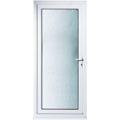 Humber Pre-Hung UPVC Door 2085mm x 840mm Left Hand | Travis Perkins