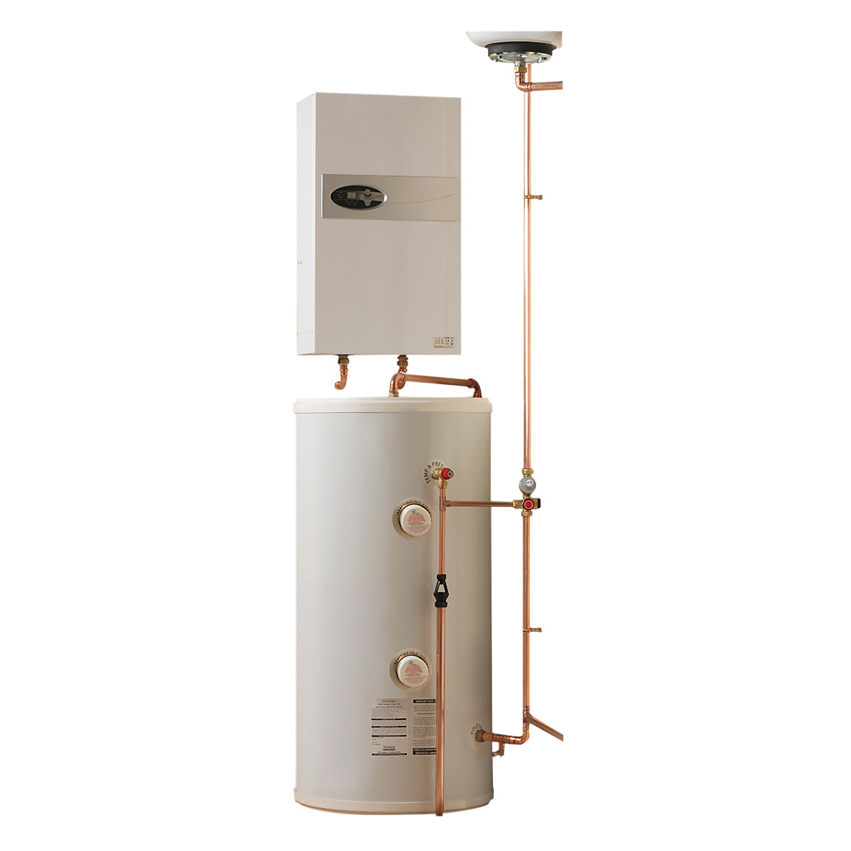 Electric Heating Company Eclipse CPSDECL12/210 Electric Boiler ...
