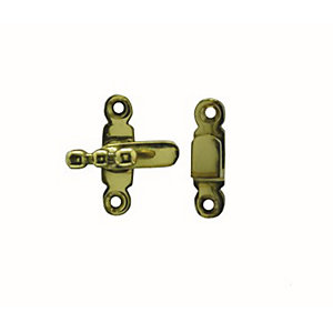 4Trade Cupboard Catch Brass 38mm