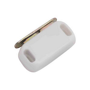 4Trade Magnetic Catches Medium White Pack of 2