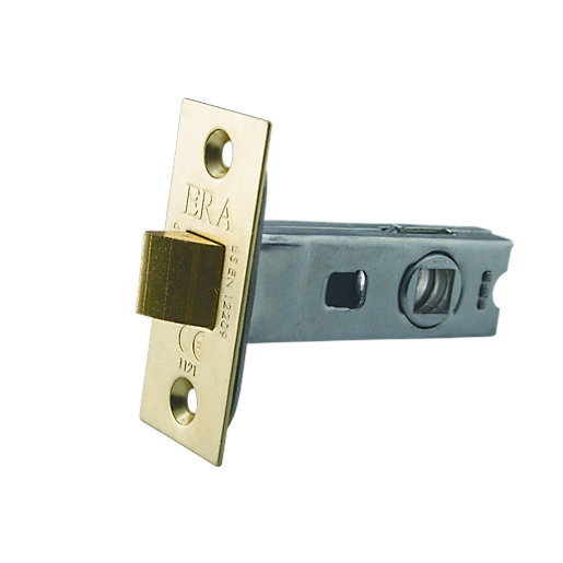 4Trade Tubular Latch CE Fire Tested Zinc 64mm