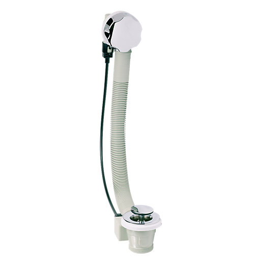 Embrass Peerless De-Luxe Bath Pop Up Waste & Overflow Chrome Plated 1.5in 200886