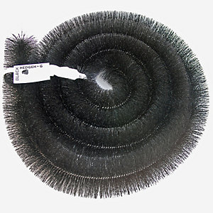 Hedgehog Gutter Brush Drain Cleaning Protection Black 4000mm x 100mm
